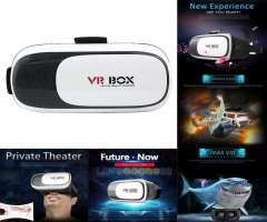 LENTES DE REALIDAD VIRTUAL VR BOX 3D  MANDO BLUETOOTH