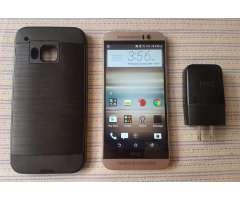 HTC ONE M9 GOLD EDITICION LIBRE DE OPERADOR 4G SEMI NUEVO