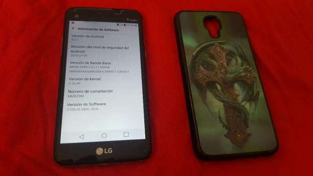 Lg X Screen Impecable