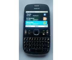 Nokia Asha 302 Whatsapp Fb 3.2mp Wifi 3g