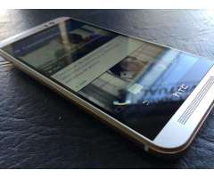 Edicion Especial HTC One M9 Color Dorado con Plata de 32 GB
