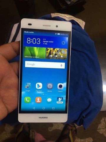 Huawei P8 Lite Blanco Libre