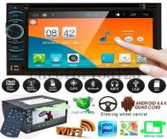 ANDROID WIFI AUTORADIO CON PANTALLA TACTIL, BLUETOOTH, CD, USB, GPS