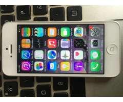 IPHONE PLATA 5 DE 16GB LIBRE PARA TODO OPERADOR