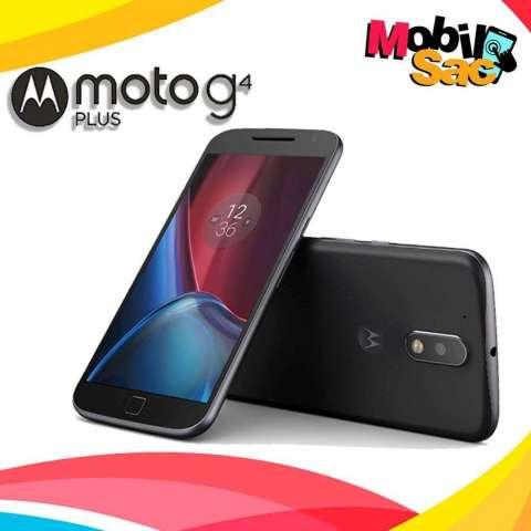 Moto G4 Plus 32GB 4G 16MP //Nuevos Libres EN CAJA CON GARANTIA DE TIENDA