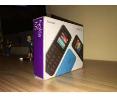 Microsoft Nokia 105 Libre Operador Batería Larga Duración