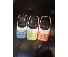 Nokia 3310 Dual Sim Nuevo Version 2017
