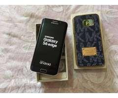 SAMSUNG GALAXY S6 EDGE 64GB EN CAJA TODO COMPLETO Y LIBRE DE FABRICA.