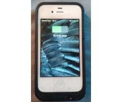 ec75a8e6809 Case cargador Mophie para iphone 4 o 4s antigolpes.