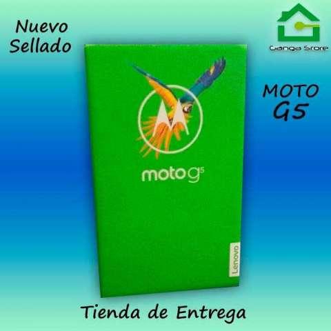 MOTO G5 32GB TIENDA NUEVO Y SELLADO GARANTIA LIBRE OPERADOR
