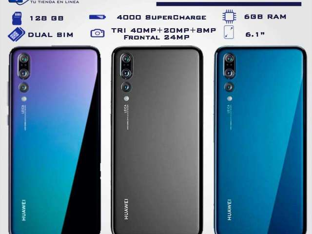8d77809f8d45e Celulares Huawei P20 Pro Twilight
