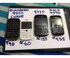 Venta de Equipos Blackberry