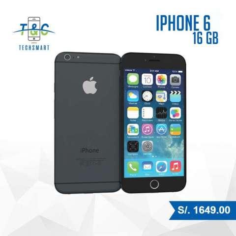 IPHONE 6 DE 32GB NUEVO CON GARANTIA CONTAMOS CON TIENDA!