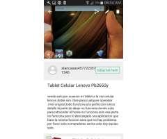 Tablet Celular Lenovo Pb2 650y