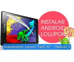 Actualiza Tablet Lenovo Tab2 A730 a Android 5 Lollipop ROOT
