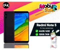 Xiaomi Redmi Note 5 32GB/ 64GB//Version Global 4G/Nuevos Garantia Regalos