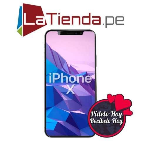 iPhone X Memoria interna 64 GB ó 256 GB