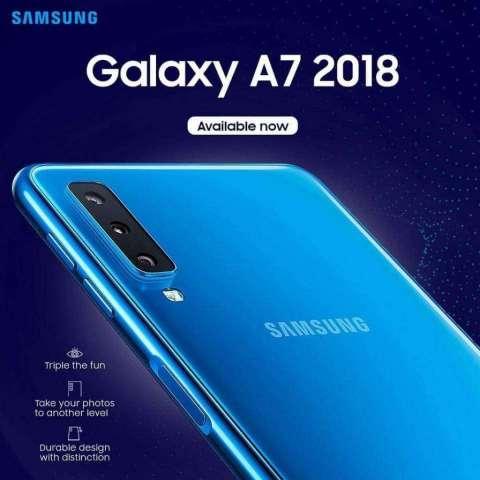 Samsung Galaxy A7 2018 128 Gb Tienda