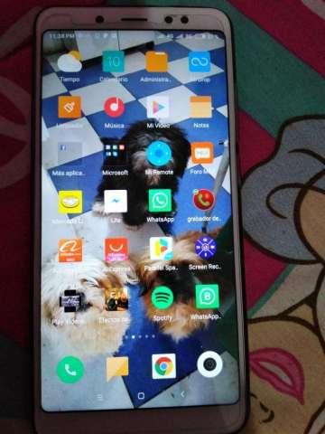 Tienda remata Celular Xiaomi Redmi Note 5 4/64Gb Dorado todo Original en Caja