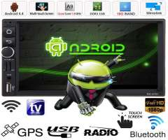 AUTORADIO ANDROID WIFI MULTIMEDIA BLUETOOTH GPS YOUTUBE MP3 MP4 DVD