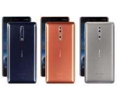 Nokia 8 Totalmente nuevo nunca abierto sellado de fabrica