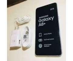 Intacto Original Samsung A8 Plus 2018 4GB 32gb 16mp 3500mAh