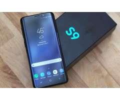 SAMSUNG S9 DE 64GB CON INICIAL DE 445 SOL TE LO SACAS YA PORTANDO A CLARO CON EL PLAN DE 85 MAS...