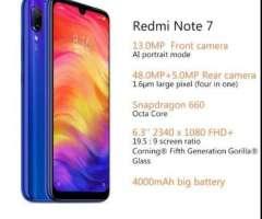 Xiaomi Redmi Note 7 4gb Ram 128gb Rom