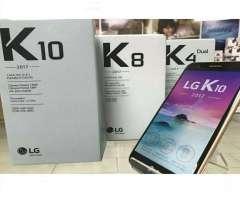 Lg K10 2017 Libre Todo Operadores