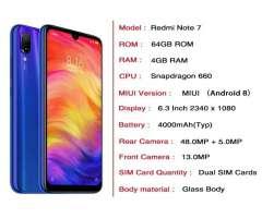 Xiaomi Redmi Note 7 Nuevo Sellado