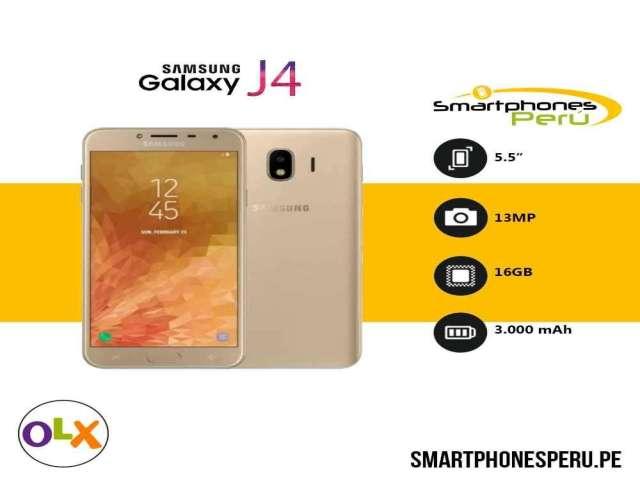 Samsung Galaxy J4 32GB / Disponibilidad inmediata / Smartphonesperu