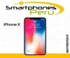 iPhone X 64GB / Entrega inmediata / Smartphonesperu