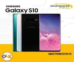 Samsung Galaxy S10 128GB / Entrega inmediata / Smartphonesperu