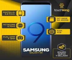 Samsung Galaxy S9 64gb Ram 4gb Libre De Fabrica Sellado