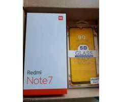 OFERTA NUEVO Redmi Note 7 Global 2019 4 GB RAM y 64 GB ROM EN CAJA  ACCESORIOS  FACTURA  MICA 9D