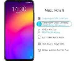 Meizu Note 9 4GB 64GB Snapdragon 675 Octa Core 6.2 '' 48MP Cámara doble AI fre...