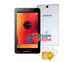 ADVANCE PR5445 PHABLET 3G 7 PROCESADOR INTEL 4GB DUALSIM DUALCAMARA BLUETOOTH GPS