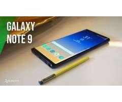 SAMSUNG NOTE 9 DE 128 GB EN PROMO PORTA A CLARO YA POR SOLO 1907 SOL EN EL PLAN DE 105 MAS CUOT...