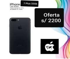 iPhone 7 Plus 32gb Sellado Libre Mundial