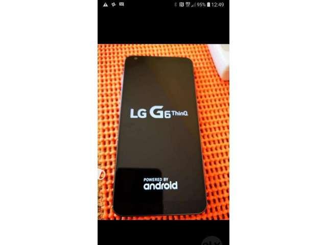 Vendo Mi Cel Lg G6 Thinq