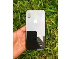 Vendo iPhone X  256Gb  Impecable