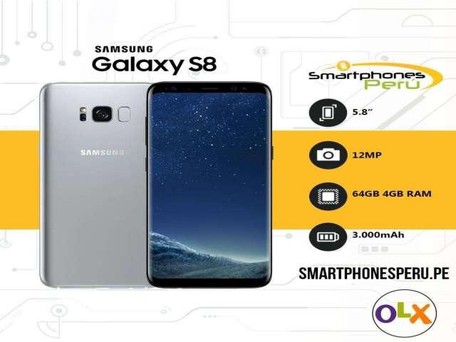 Celular Samsung S8 64GB •Procesador Exynos 4GB RAM• Smartphonesperu.pe