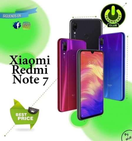Redmi Note 7 Xiaomi Redmi Note 7 48 Megapixeles Celulares sellados Garantia 12 Meses
