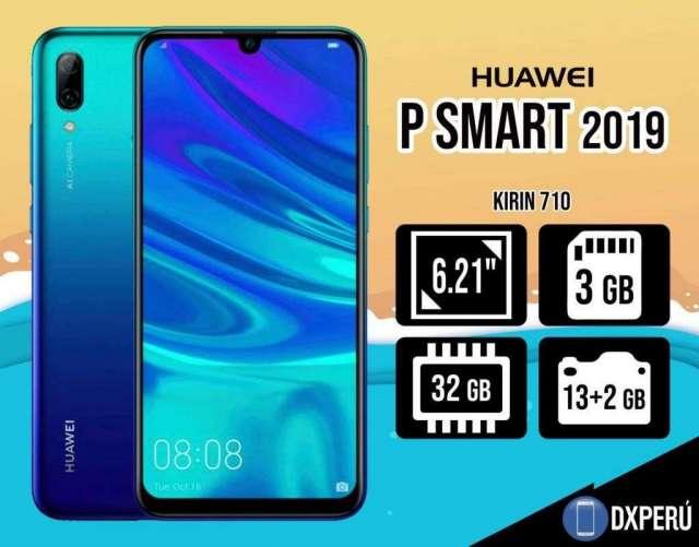 Huawei P Smart 2019 / 32 gb 3 gb / Sellado / Nuevo / Colores / Tienda
