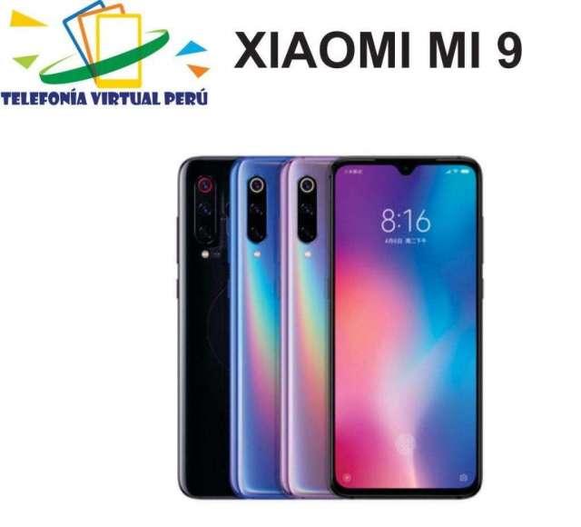 XIAOMI MI 9 64GB/6RAM SOMOS TELEFONIA VIRTUAL PERU 964334420