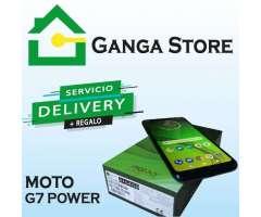 Moto G7 Power Bateria de 5000 Tienda