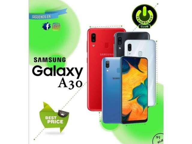 Samsung A30 Galaxy  A30 2019 / Tienda física Centro de Trujillo / Celulares se...