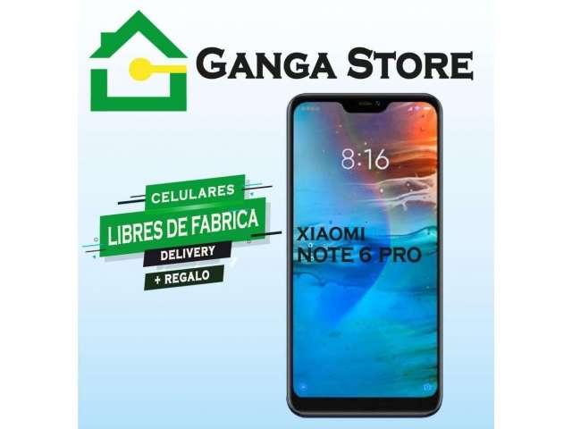 Xiaomi Redmi Note 6 Pro Tienda Garantía