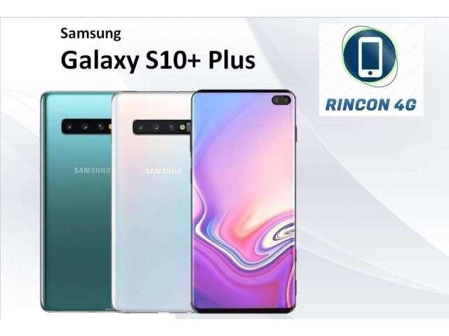 SAMSUNG GALAXY S10 PLUS 128GB/8GB NUEVO SELLADO SOMOS TIENDA FISICA 983443442