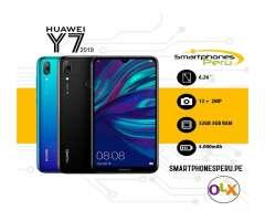 Huawei Y7 2019 32GB / Entrega inmediata /Smartphonesperu.pe